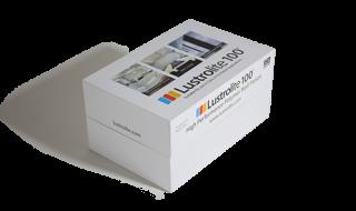 Sample pic of Lustrolite 100 Sample Box